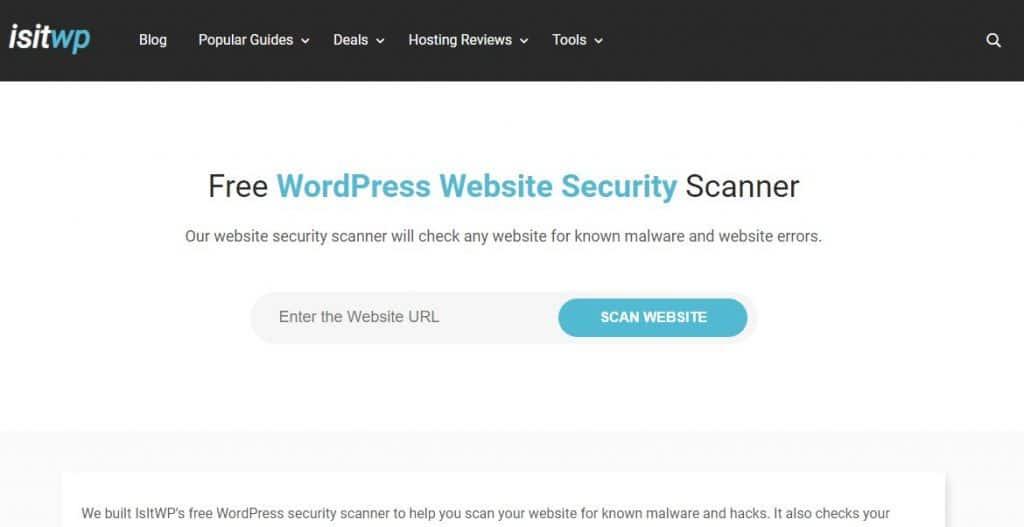 isitwp Securiy Scanner
